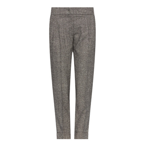 Lontra Tweed Trousers, ${color}