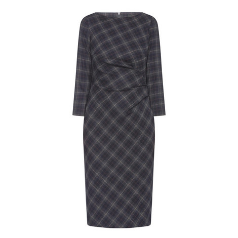 Loretta Check Dress, ${color}