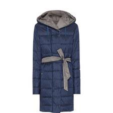 Luis Reversible Longline Quilted Jacket
