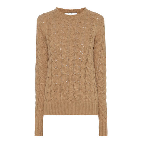 Maestro Cable Knit Sweater, ${color}