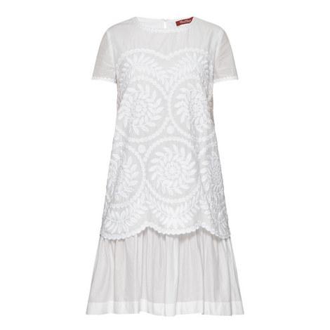 Mania Leaf Print Dress, ${color}