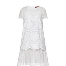Mania Leaf Print Dress