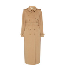 Kriss Camel Trench Coat