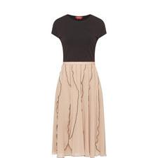 Marat Short Sleeve Midi Dress