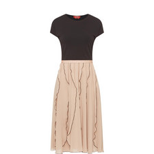 Marat Short Sleeve Midi Dress