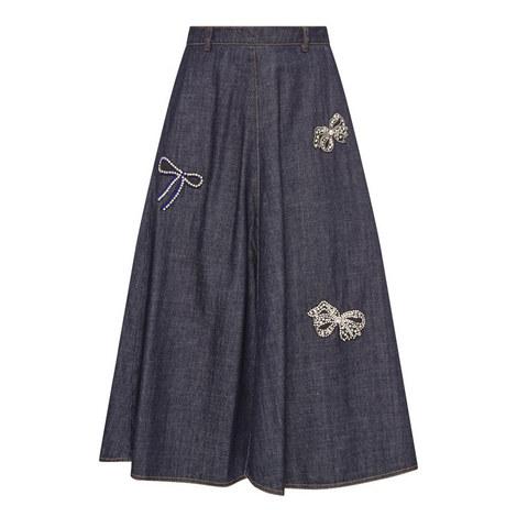 Long Denim Skirt, ${color}