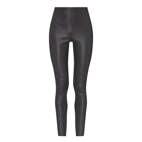 Maremar Leather Trousers, ${color}