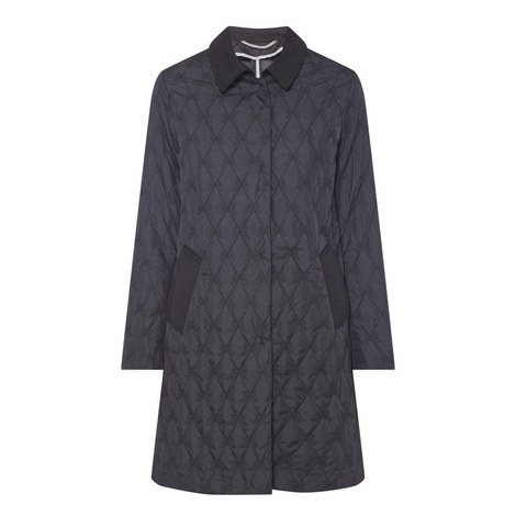 Marus Quilted Bow Coat , ${color}