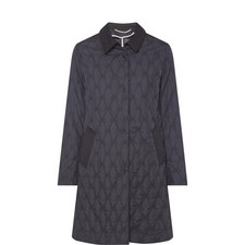Marus Quilted Bow Coat