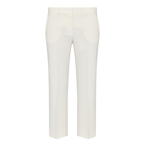 Mascia Cropped Trousers, ${color}