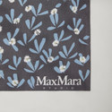 Floral Print Silk Scarf, ${color}