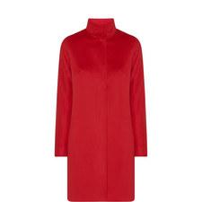 Melina Funnel Neck Wool Coat