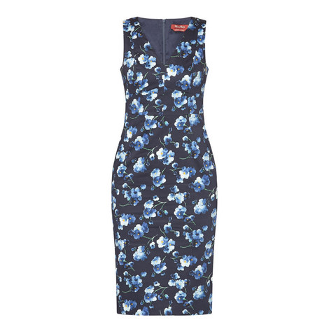 Merlot Floral Dress, ${color}