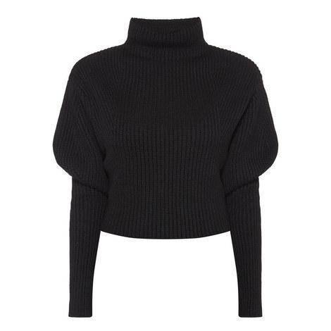 Mirella Puff Sleeve Sweater, ${color}