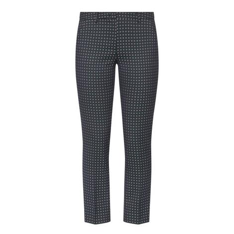 Mincio Patterned Trousers, ${color}