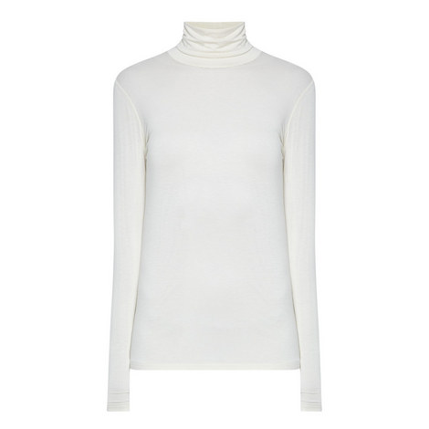 Multig Polo Neck Top, ${color}