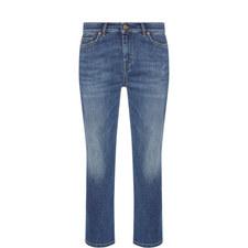 Moena Cropped Boyfriend Fit Jeans