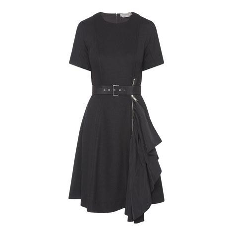 Moriana Zip Detail Dress, ${color}