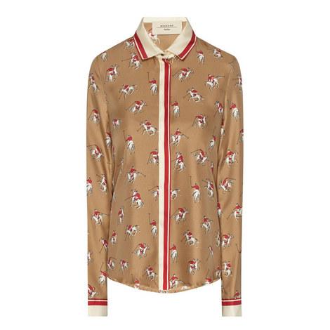 Muscari Horse Print Shirt, ${color}