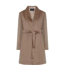 Nelson Belted Wool Coat