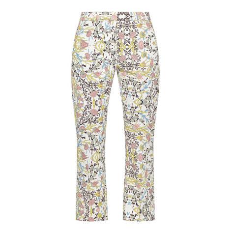 Neottia Moroccan Print Trousers, ${color}