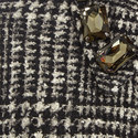 Ninnolo Jewel Collar Coat, ${color}