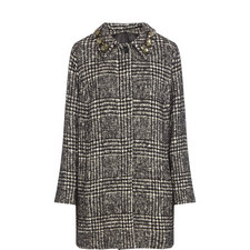 Ninnolo Jewel Collar Coat