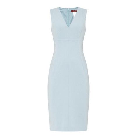 Nunzio V-Neck Dress, ${color}