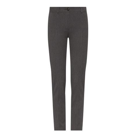 Ocarina Slim Fit Cigarette Trousers, ${color}