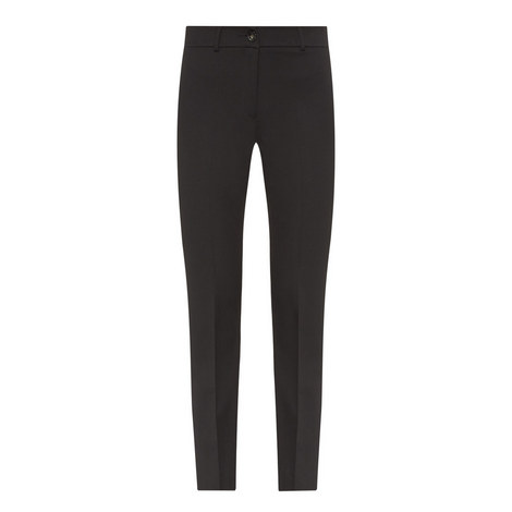 Ocarina Slim Fit Cigarette Trousers, ${color}