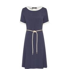 Oceania Contrast Trim Dress
