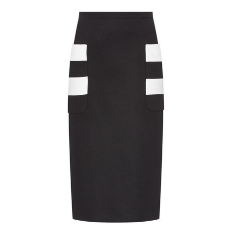 Ode Pencil Skirt, ${color}