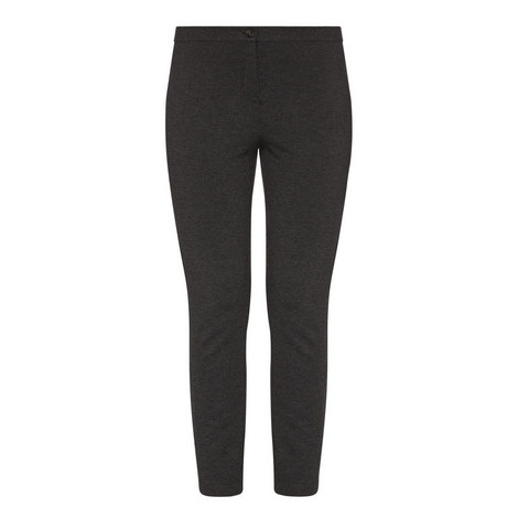 Oil Slim Trousers, ${color}