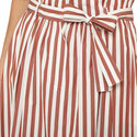 Olivi Cotton Stripe Skirt , ${color}