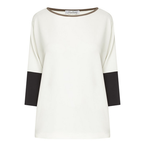 Orologi Colour-Block Blouse, ${color}
