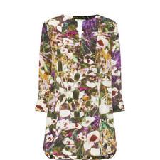 Ossola Floral Silk Tunic