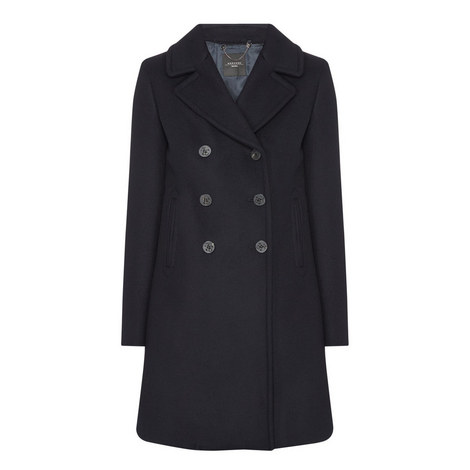 Wool Pea Coat, ${color}
