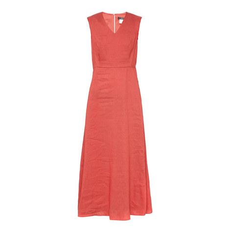 Orange Maxi Dress, ${color}