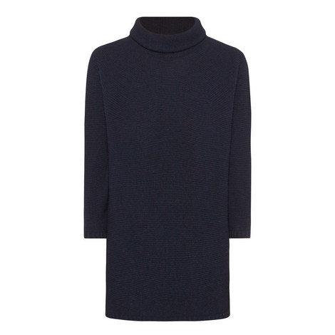 Ovale Polo Neck Sweater, ${color}