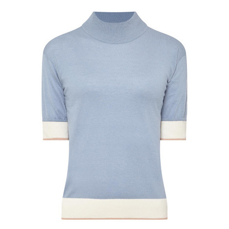 Peccati Short Sleeve Sweater, ${color}