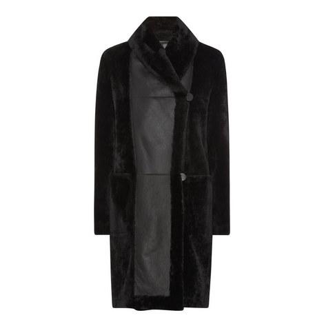 Perigeo Shearling Coat, ${color}