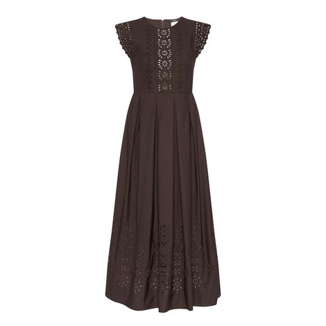 Perry Laser Cut-Out Dress, ${color}