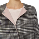 Perugia Check Duffle Coat, ${color}