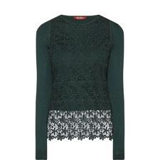 Franco Lace Layered Sweater