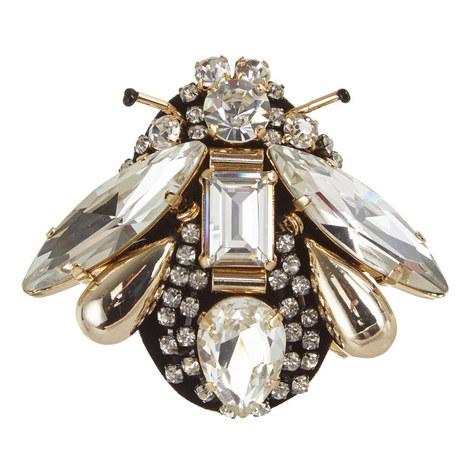 Piadena Crystal Bug Brooch, ${color}