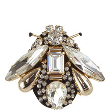 Piadena Crystal Bug Brooch