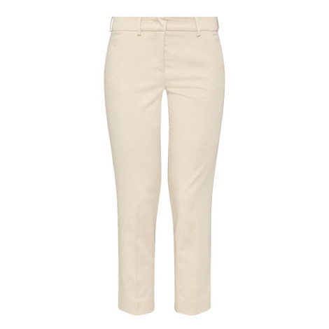 Platani Slim Crop Trousers, ${color}