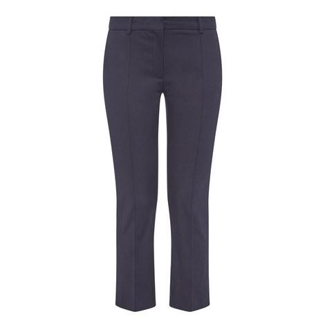 Pompei Slim Crop Trousers, ${color}