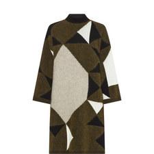 Printed Longline Sweater