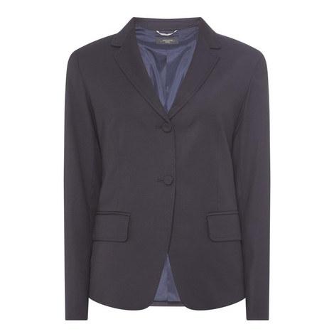 Rauche Suit Blazer, ${color}